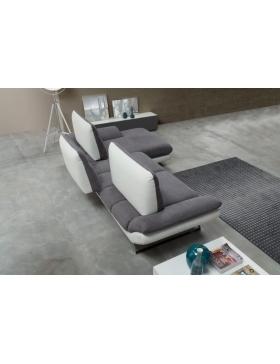 Salon d'angle fixe Luxury