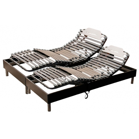 Sommier de relaxation France Nuit Ares 2x80x200 cm