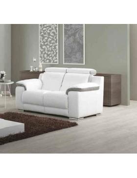 Canapé 2 places avec 2 relaxations électriques Natalia
