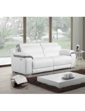 Canapé 3 places avec 2 relaxations électriques Natalia