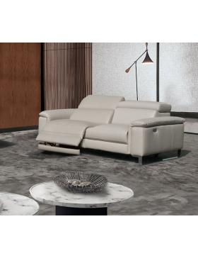 Canapé 3 places avec 2 relaxations électriques Vertige