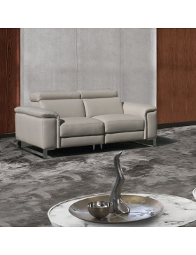Canapé 2 places avec 2 relaxations électriques Vertige