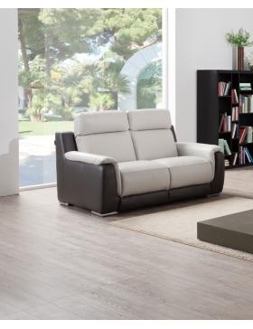 canapé 2 places avec 2 relax électriques Tiny