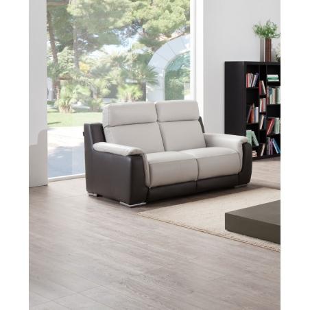 canapé 2 places - 2 relaxations électriques TINY