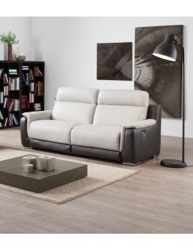 canapé 3 places avec 2 relax électriques Tiny