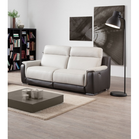 TINY, canapé 3 places - 2 relaxations électriques