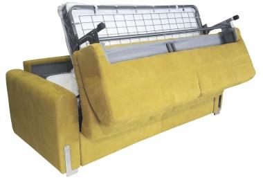 Canapé 2 places convertible couchage 120 cm Katty