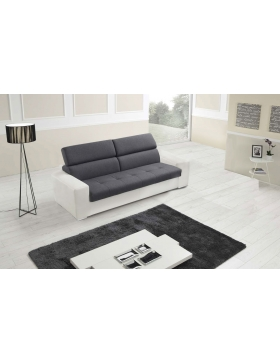 Canapé 3 Places convertible couchage 140 cm Lois