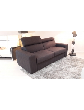 Canapé 2 places convertible couchage 120 cm Artus