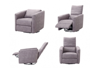 Fauteuil relaxation manuelle Cora