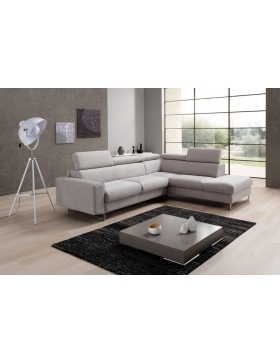 Salon d'angle convertible couchage 140 cm Tendance