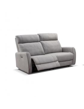JORYS-, canapé 3 places - 2 relaxations électriques
