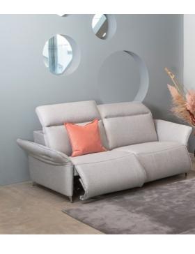 Canapé 3 places avec 2 relaxations électriques TRADITION
