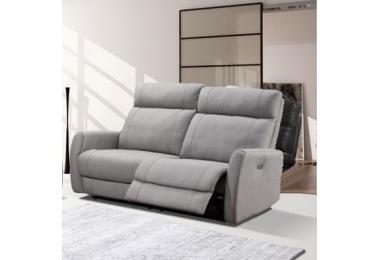 JORYS-, canapé 2,5 places - 2 relaxations électriques