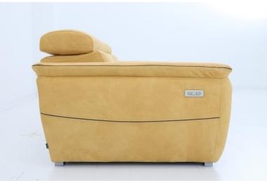 MONALISA, canapé 3 places - 2 relaxations électriques