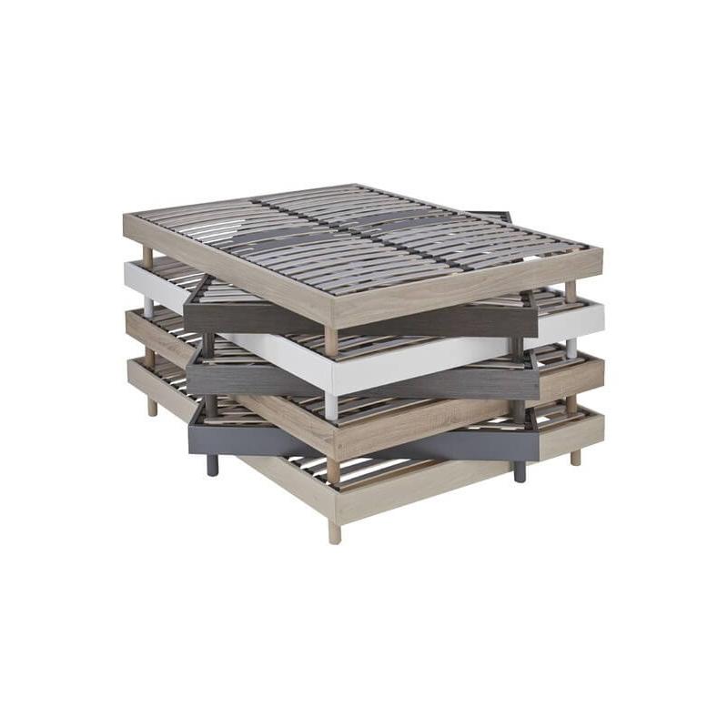 Sommier 160x200 cm Decokit bois