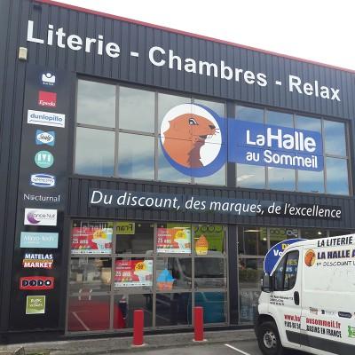Soldes Literie 30 A 50 Matelas Lit Canape Magasin Lattes La Halle Au Sommeil
